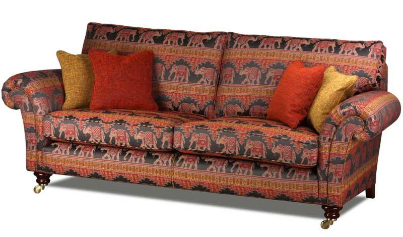 Couchgarnitur Landhaus landhaus sofa im englischen landhausstil handgefertigt in