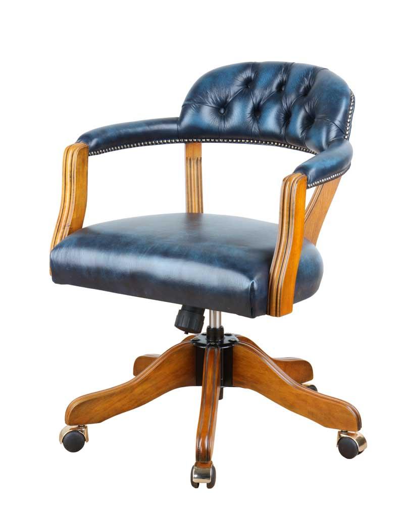 chesterfield b rostuhl und drehstuhl. Black Bedroom Furniture Sets. Home Design Ideas