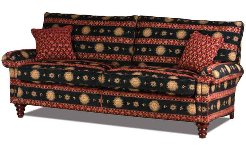 Hamilton Large Couch In Stoffbezug Olympia Midnight