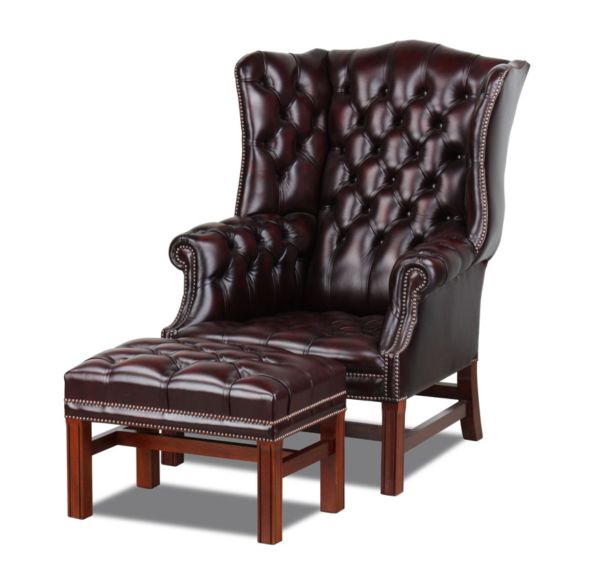 chesterfield ohrensessel lord nelson. Black Bedroom Furniture Sets. Home Design Ideas