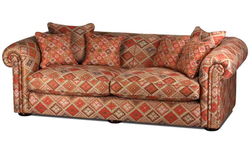 Metropolitan Landhausstil Sofa In Stoffbezug Indira