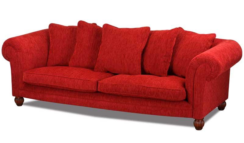 Landhaus sofa im englischen landhausstil handgefertigt for Englische landhaus sofas