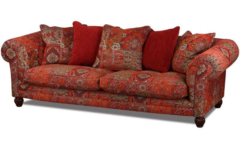 landhaus sofa im englischen landhausstil handgefertigt. Black Bedroom Furniture Sets. Home Design Ideas