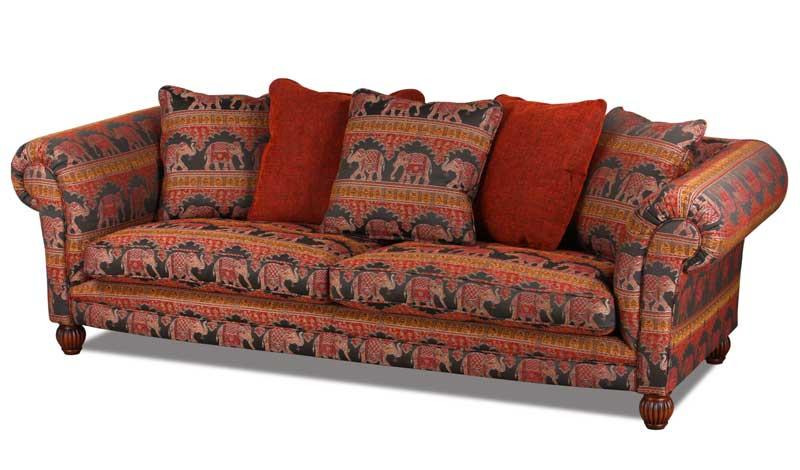 Landhaus Sofa Im Englischen Landhausstil Handgefertigt In