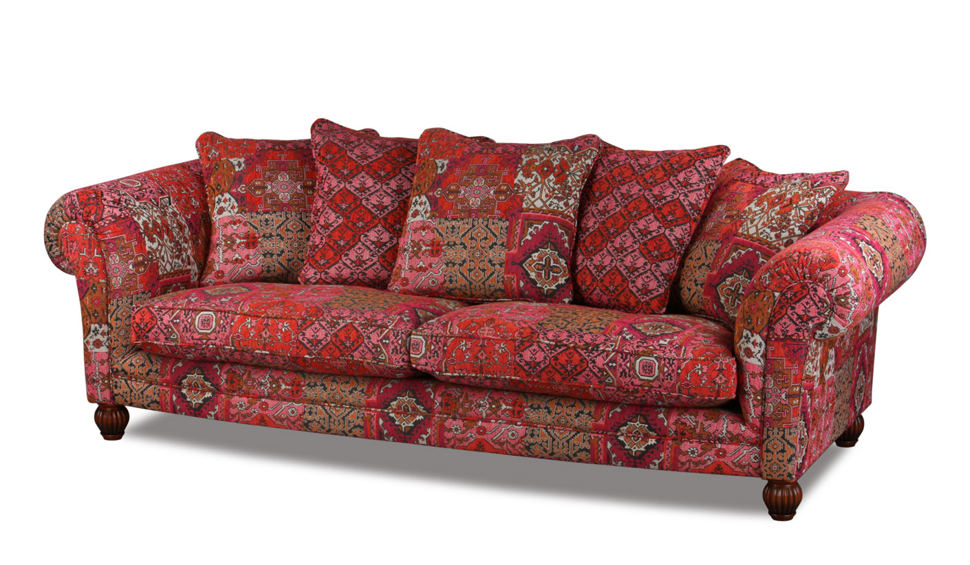 ein orientalisches sofa aus england. Black Bedroom Furniture Sets. Home Design Ideas